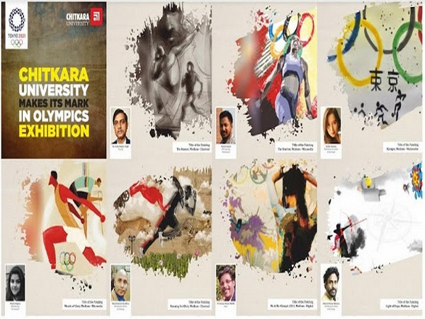 Artworks made by Chitkara University faculty and students to be displayed at Tokyo Olympics Memorial Gallery in Japan