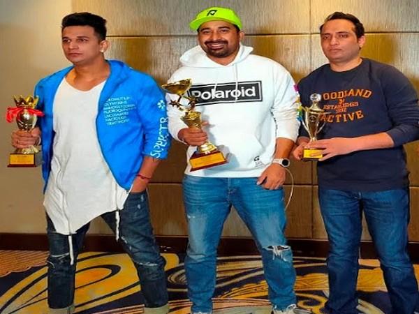 L-R: Prince Narula, Rannvijay Singha and Sunny Verma, MD and Founder IMG Venture