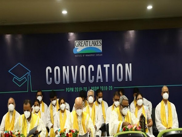 Great Lakes Institute of Management, Gurgaon - Convocation 2020