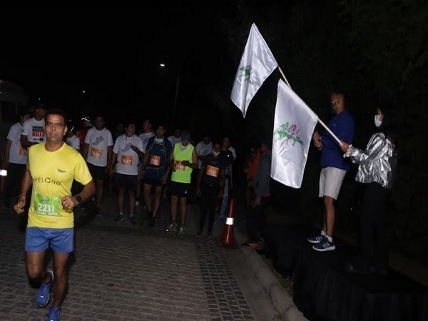 Participants Particings at New Gurugram Half Marathon