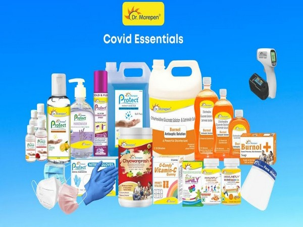 Dr Morepen range of COVID essential products