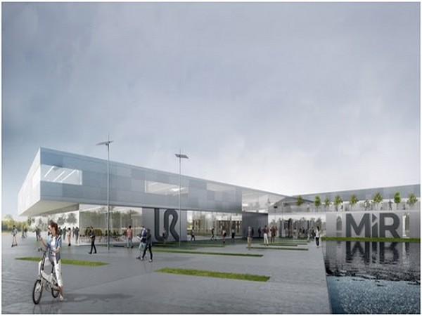 This is the vision of the new Cobot Hub in Odense. The final architectural design has not yet been determined.