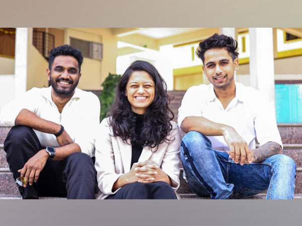 Pyxis Founding Team - Harikrishna Valiyath, Vrushali Prasade and Shubham Mishra