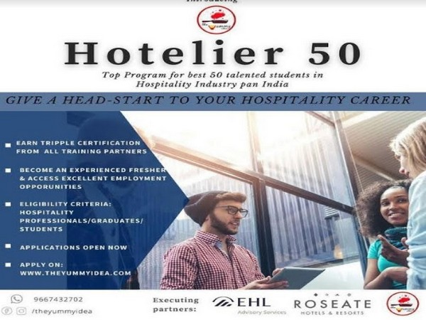 HOTELIER 50 programme by The Yummy Idea