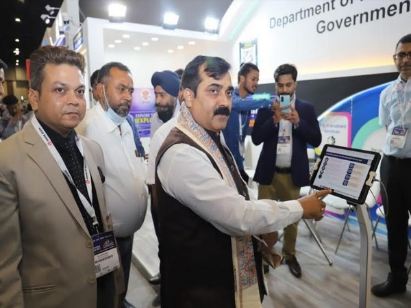 Jibesh Kumar, the Hon'ble Minister for the Department of IT, State Government, Bihar at Convergence India 2021