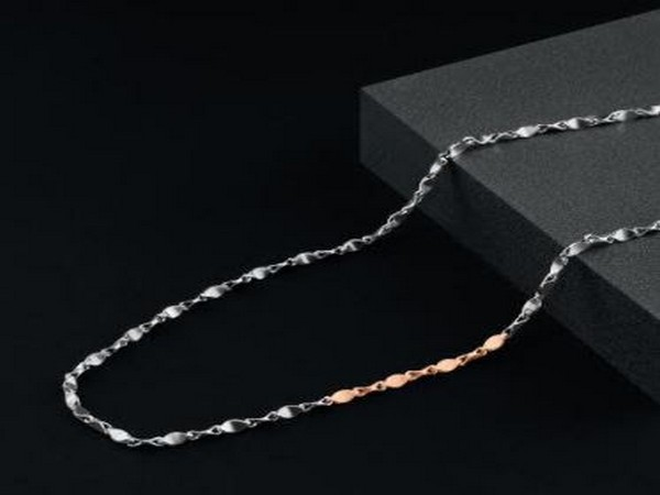Platinum Dual-Toned Link Chain