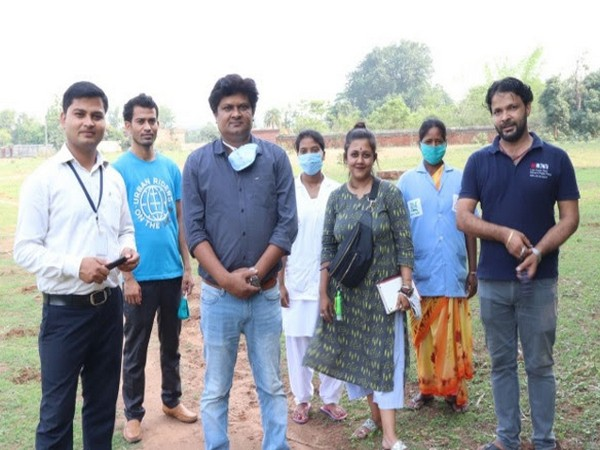 Sanmat Founder, Amit Kumar Choubey and his team