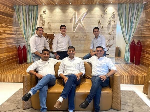 R to L: Sushil S, Neeraj K, Mukesh B, Mohit K, Devesh R, Navneet J from Marwari Catalysts & Kumbhat Advisors
