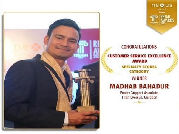 Madhab Bahadur Speciality Stores Category winner at TRRAIN Retail awards 2020