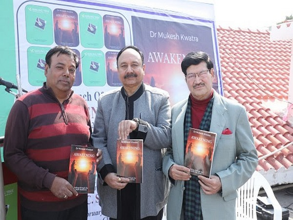 Left to Right: Mukesh Kwatra, CS Dubey and Firoz Bakht Ahmed