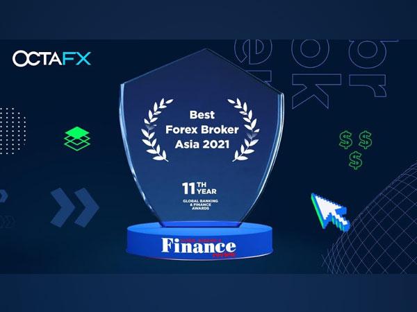 'Best Forex Broker Asia' Award 2021