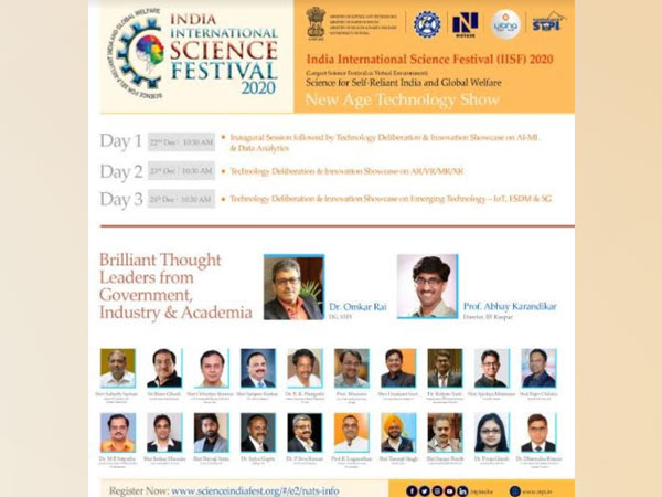 India International Science Festival 2020 Witnesses Innovative Interventions to Contribute Towards the Building of a Self-reliant India