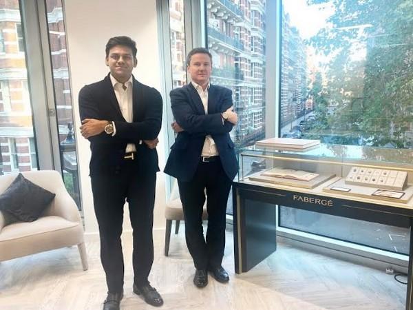 Rishabh Tongya - Creative Director, DIACOLOR and Antony Lindsay - Managing Director, Faberge
