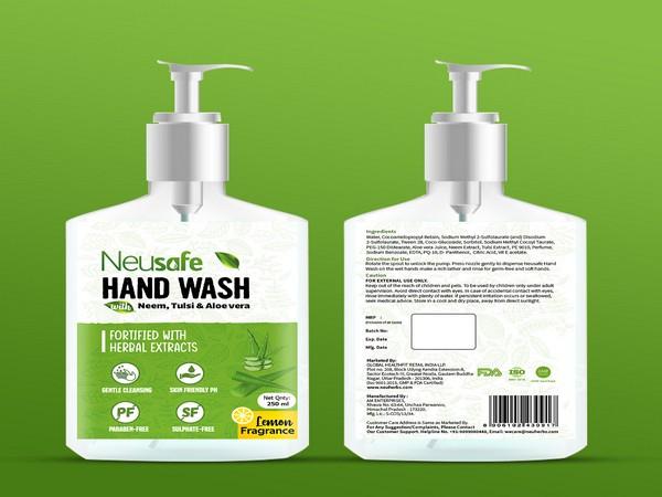 Mockup handwash