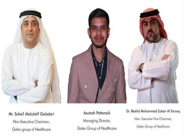 Dr Rashid Mohammed Zubair Al Farooq, Asutosh Pattanayak, Suhail Abdul Latif Galadari come together to serve the greater humanitarian cause of fighting the COVID