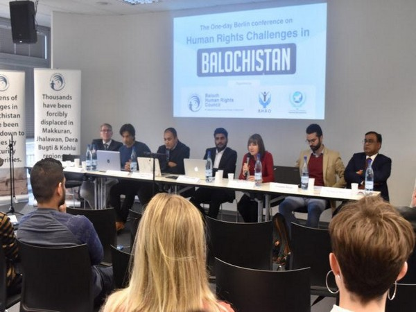 Berlin conference calls for humanitarian intervention in Balochistan