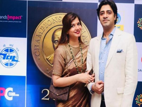 Amol Monga & Ankita Singh at Champions of Change Awards
