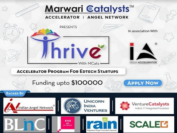 "Marwari Catalysts Edtech Accelerator Program ""Thrive"""