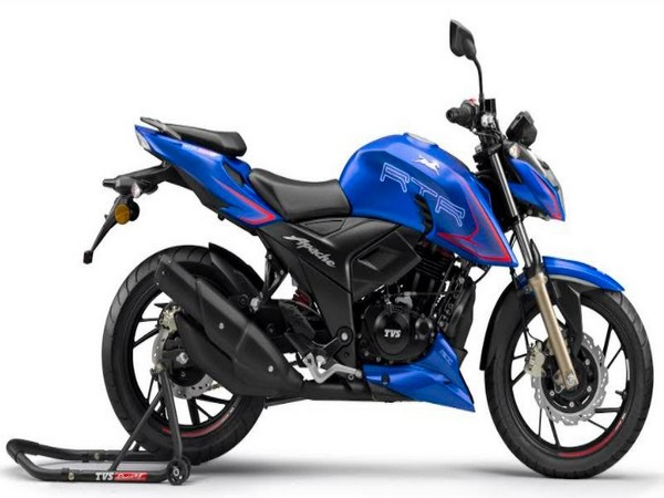 TVS Apache RTR 200 4V with Ride Modes