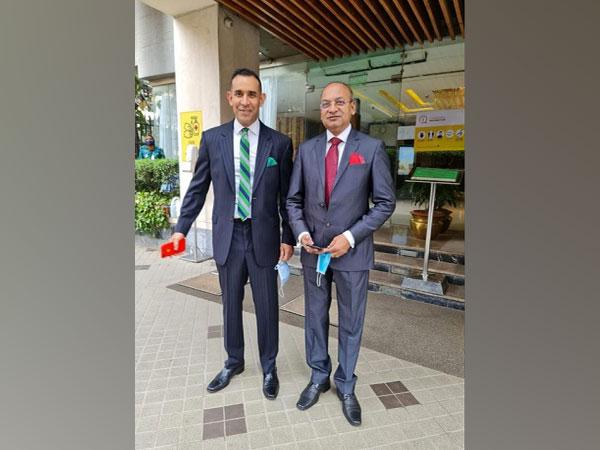 Uday Narang, Chairman & Dr Deb Mukherji, MD, Omega Seiki Mobility
