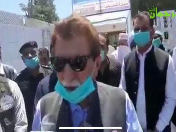 Raja Farooq Haider, the so-called Prime Minister of Pakistan occupied Kashmir.