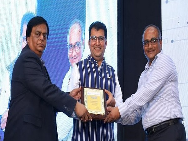 From Left to Right: Ravichandran, Chief of Marketing and Sales - Tata Steel, IPPE; Ashirwad Agarwal, MD, Triveni Enterprises and Koushik Bhadra, Chief Sales Manager, Tata Steel South India - IPPE