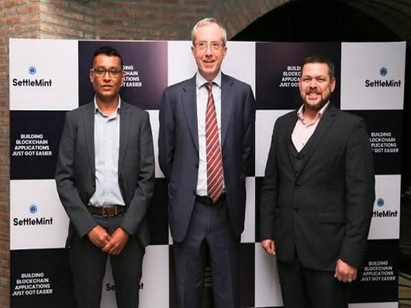 Left to Right: Fatmi Shazad, CEO, SettleMint India, The Belgian Ambassador, Francois Delhaye, Matthew Van Niekerk, Co-founder & CEO, SettleMint
