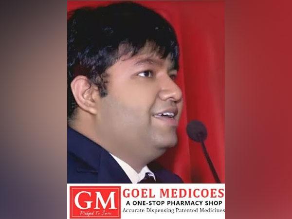 Basant Goel, owner of Goel Medicos