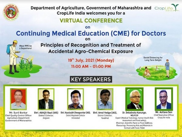 Webinar on principles of recognition and treatment of accidental agro-chemical exposure