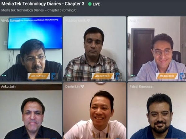MediaTek Virtual Tech Diaries - 9th September 2020