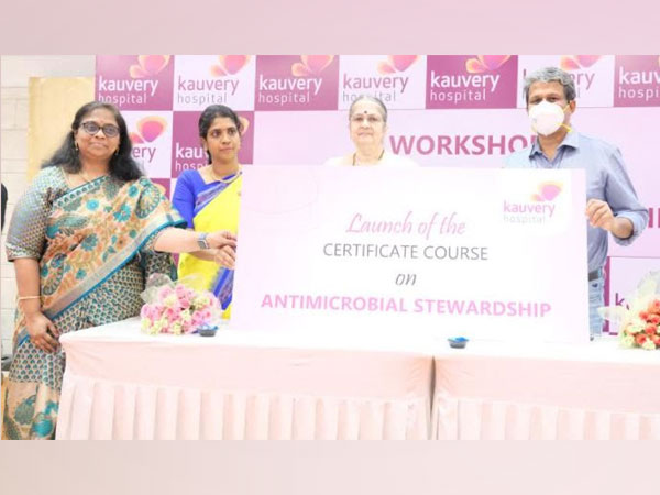 Kauvery Hospital launches, a first of its kind training programme which includes the know-hows of using antibiotics on patients