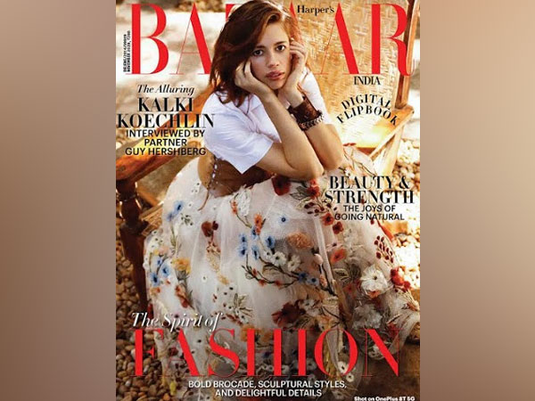 Cover - Harper's Bazaar India