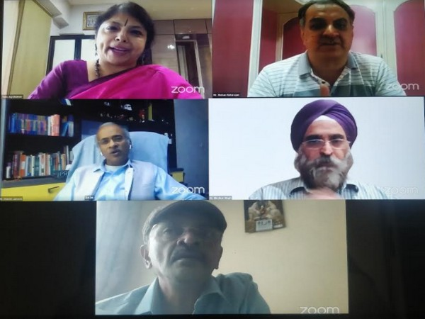 Participants at the Webinar on MSMEs