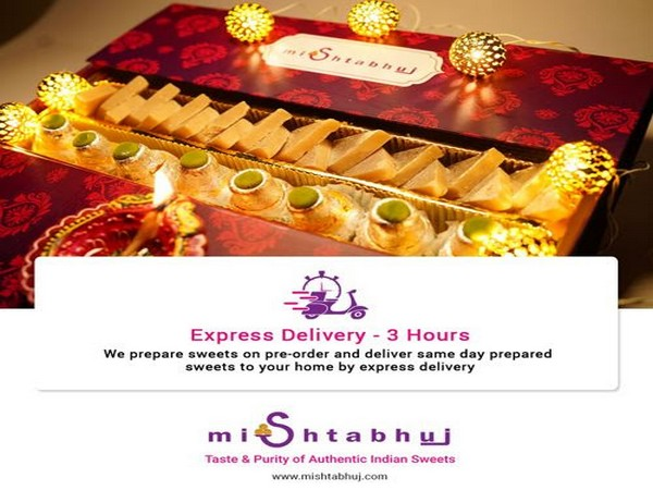 Mishtabhuj, based out of Delhi NCR, offers home-made sweets prepared in pure desi ghee