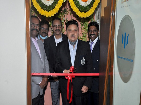Former IPS A. A. Khan inaugurating Trident Consultants