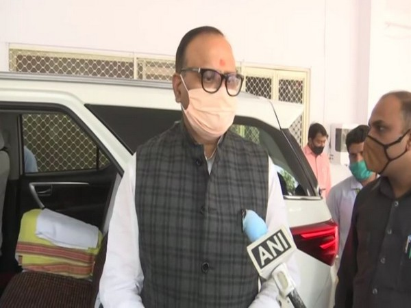 Uttar Pradesh Minister, Brijesh Pathak