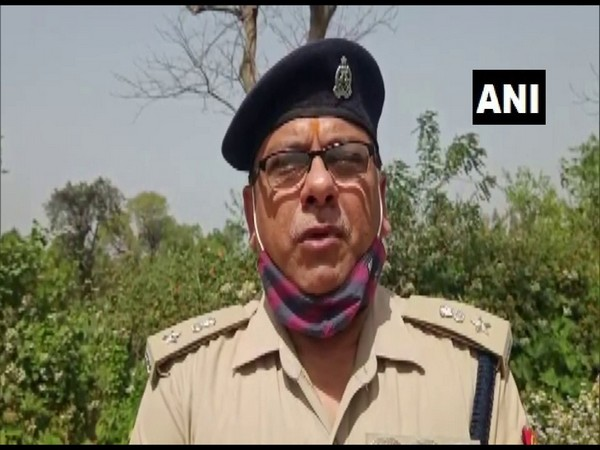 Sitapur Superintendent of Police, RP Singh (Photo/ANI)