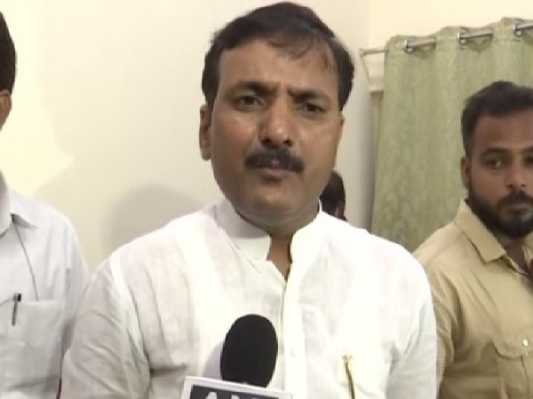 Uttar Pradesh Basic Education Minister, Satish Dwivedi speaking to ANI in Lucknow on Tuesday. Photo/ANI