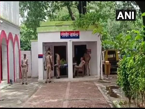 Anti-Terrorism Squad police station in Bijnor, Uttar Pradesh. Photo/ANI