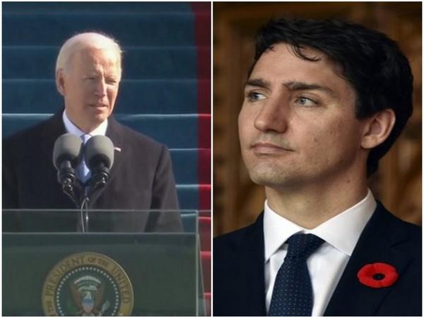 US President Joe Biden and Canadian Prime Minister Justin Trudeau (File Photo)