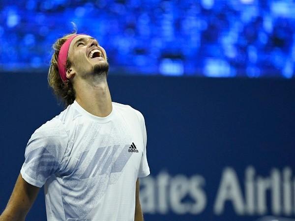German tennis player Alexander Zverev