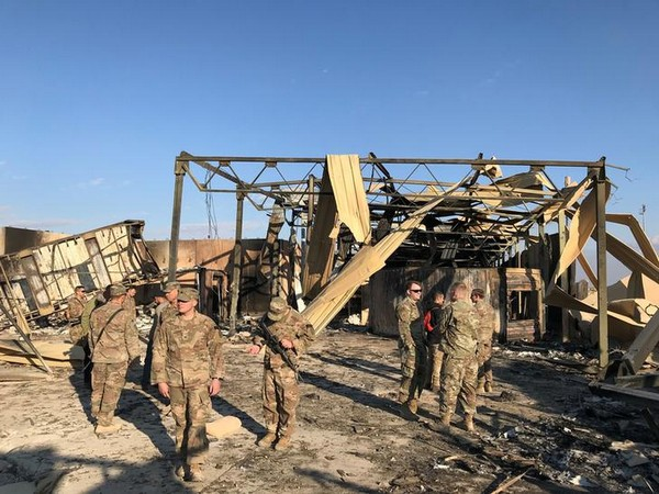 US troops at the airbase where Iranian missiles hit in January