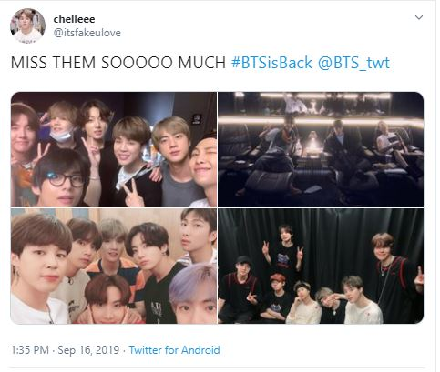 BTS is back - and already hard at work!