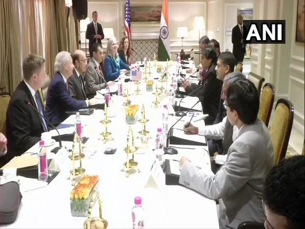India, US bilateral meeting underway in New Delhi on May 6 (Photo/ ANI)