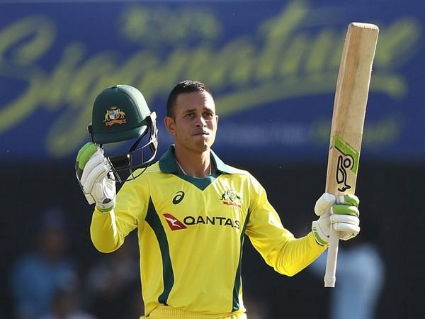 Australia batsman Usman Khawaja (Courtesy BCCI)