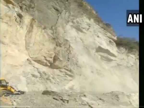 Visuals from the Rishikesh-Srinagar road (Photo/ANI)