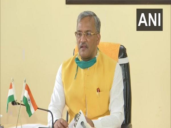 Uttarakhand Chief Minister Trivendra Singh Rawat speaking to media on Friday.