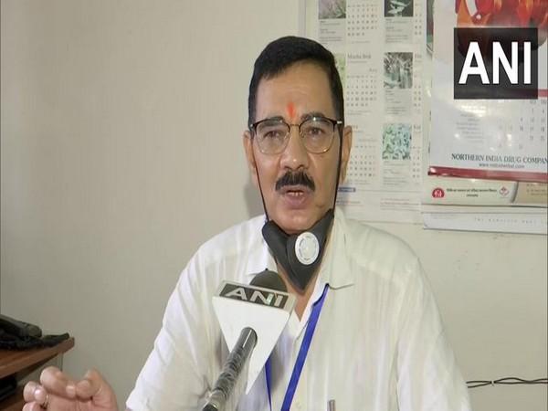 YS Rawat, Licence Officer, Uttarakhand Ayurved Department speaking to ANI.