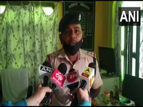 SHO Pokhari Police station speaking to media