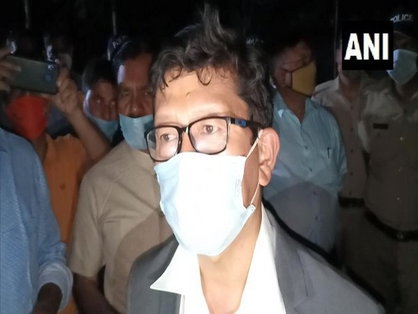 Mela IG Sanjay Gunjyal speaking to reporters on Thursday.